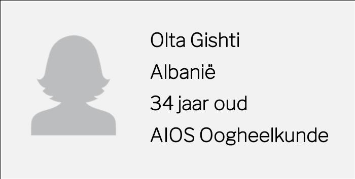 Rolmodellen interview Olta Gishti