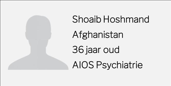 Rolmodellen interview Shoaib Hoshmand